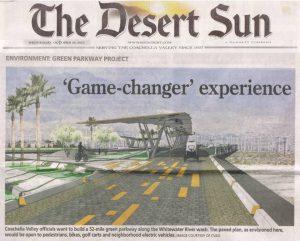The Desert Sun Newspaper Article